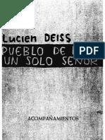 47482332 Deiss Lucien Pueblo de Reyes Un Solo Senor