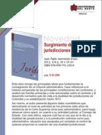 Surgimiento dualidad de jurisdicciones en Colombia. Entre la Regeneración, la dictadura y la unión republicana