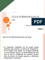 Ciclos de Refrigeración de gas exp