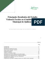 libro sobre encuesta aplicada en el año 2010 (violencia Escolar)i