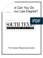 What Can I Do With a Law Degree