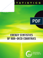 Energy Statistics of Non-OECD Countries 2010 _IEA Internat Energy Agency