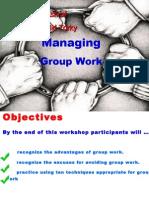 Managing Group Work