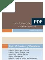 Induction, Training & Development