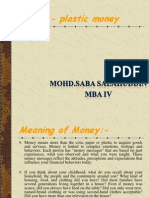 Plastic Money Ppt