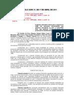 PROTOCOLO ICMS 21..