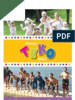 2012 Camp TEKO Parent Handbook