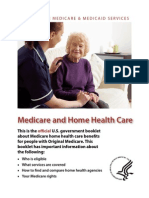 Medicare Home Health Booklet