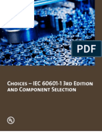 Choices-IEC 60601-1 3rd Edition and Component Selection