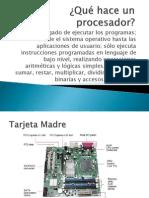 Qué hace un procesador