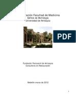 Informe Restauracion Facultad de Medicina Udea