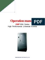 Manual Variador Invt