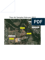 Titan Map Air Sample 2012