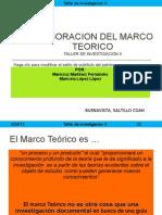 Elaboracion Del Marco Teorico