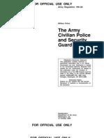 USArmy - Civilian Police