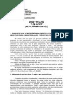 Faculdade Novafap Question a Rio Maquiavel