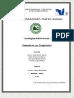 Manual de Ensamblado