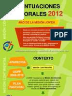 ACENTUACIONES PASTORALES 2012