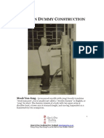 Make Your Own Wing Chun Wooden Dummy