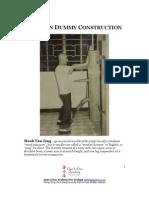 Wooden Dummy Contruction eBook