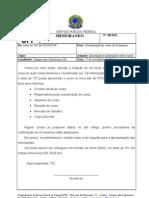 INFORMAÇÕES - BACHARELADO EM CIÊNCIAS SOCIAIS