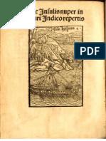 COLUMBUS, Christophorus (Cristovao COLOMBO, Christophe COLOMB) •  Epistola de insulis nuper inventis. Basel, 1494 (facsimile history source edition)