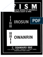 Ifism Vol 8 and 9