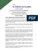 Codigo de Comercio de Colombia