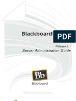 Blackboard Learn 9.1 Server Administration Guide