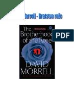 David Morrell - Bratstvo ruže 1