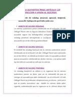 NORMA SUSTANTIVA PENAL ARTÍCULO 128 INDUCCION O AYUDA AL SUICIDIO