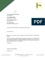 RRA Observaciones Al Plan de Desarrollo BOG