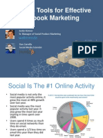 5 Tools for Effective Facebook Marketing