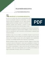 La Television Educativa[1]