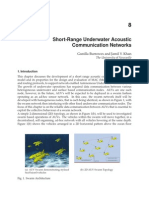InTech-Short Range Underwater Acoustic Communication Networks