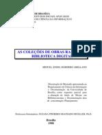 3183 - AS COLEÇÕES DE OBRAS RARAS NA BIBLIOTECA DIGITAL - MIGUEL ÁNGEL MÁRDERO ARELLANO