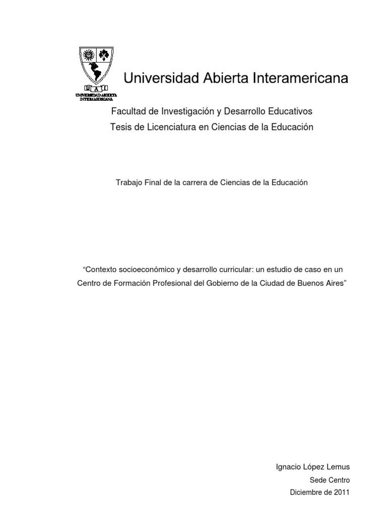 Configuración de un currículum postcrítico, multidimensional y ...