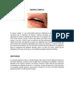 Herpes y Papiloma Humano