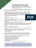 Proses Penyusunan APBD Dan Perubahan APBD
