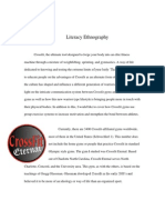 Literacy Ethnography Final Draft