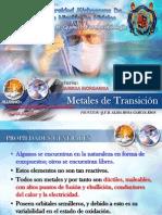 METALES DE TRANSICION