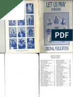 Let Us Pray_49 Prayers_Original Publications