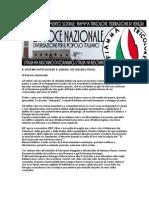 Editoriale La Voce Nazionale - 14.12.2008