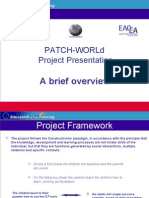 PATCH Project Presentation Sintesi