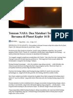 Temuan NASA