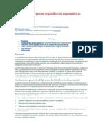 Caracterización del proceso de planificación empresarial y su práctica en Cuba