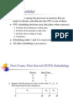 CPU Scheduling (1)
