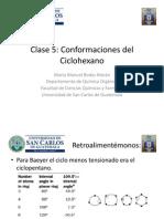 Conformaciones de Los Cicloalcanos