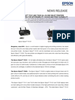 Final - Press Release - Epson Stylus TX121 and 220