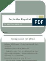 Perón the Populist
